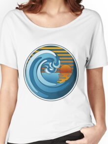 Circle Landscape Women's Relaxed Fit T-Shirt