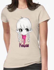 Kawaii Cut Womens Fitted T-Shirt