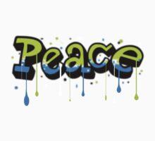 Peace Graffiti Kids Clothes