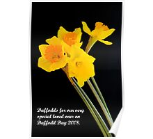 """Daffodils"" Poster"
