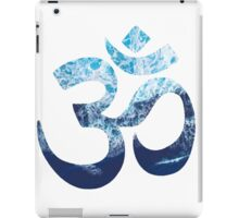 Sea Foam Om iPad Case/Skin