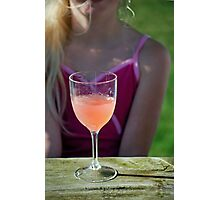 Teenage Drinking Photographic Print