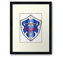 Hylian Shield Framed Print