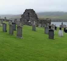 """UK: """"Unst Cemetery Panorama"""", Shetland Islands by Kelly Sutherland"""
