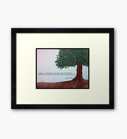 Ent Love Framed Print