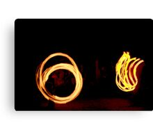 OCF Fire Poi 20 Canvas Print