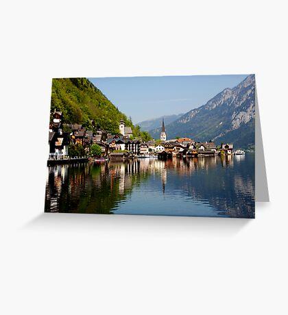 HALLSTATT - AUSTRIA Greeting Card