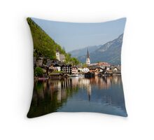 HALLSTATT - AUSTRIA Throw Pillow