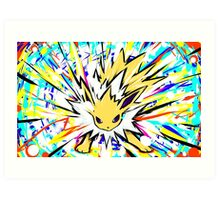 Jolteon | Shock Wave Art Print