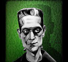 Frankenstein's Monster by HelenArt