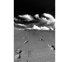 footsteps........... Photographic Print