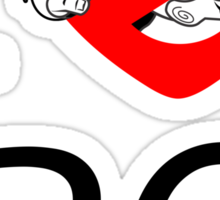 I PNW:GB BC (white) v2 Sticker