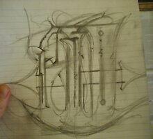 """""""ESP""""....sketch by atomikboy"""