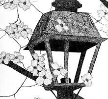 Narnia's Lamppost by Angela Micheli Otwell