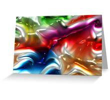 Gelasstic Colours Greeting Card
