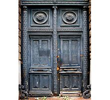 Blue Door - Lille Photographic Print