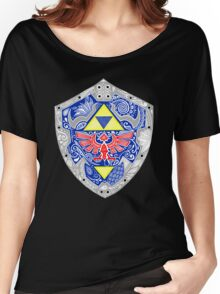 Zelda - Link Shield doodle Women's Relaxed Fit T-Shirt