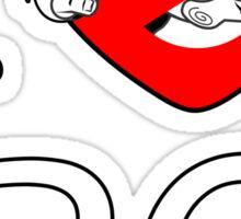I PNW:GB BC (black) v2 Sticker
