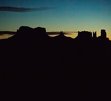 First Light Silhouettes  by Ken McElroy