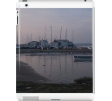 Winter Harbour iPad Case/Skin