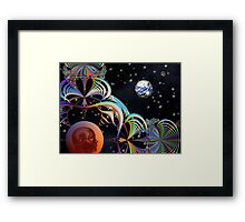Space Time 100 Framed Print