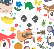Animal Crossing New Leaf Town Folk Sticker