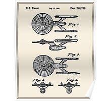 Enterprise Toy Figure Patent - Colour Poster