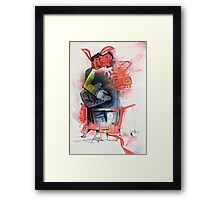 Les ClayPaul Framed Print