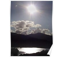 "UK: ""Late Afternoon Over Derwent Water"", Cumbria Poster"