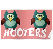 Hooters cute owls Poster