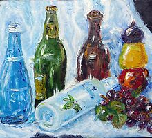 Line of Bottles_Lingo Lingo Şişeler by keci