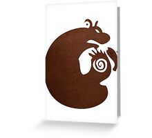 Sloth, The Grizzly Greeting Card
