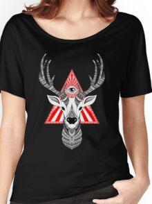 Mystical Deer Women's Relaxed Fit T-Shirt