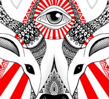 Mystical Deer Sticker