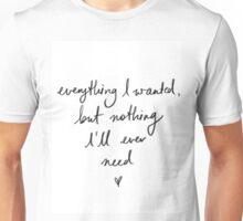 Liam Payne tattoo Unisex T-Shirt