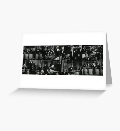 The Brass band Greeting Card