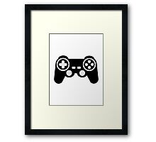Game pad controller Framed Print