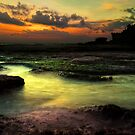 Tanah Lot Temple by Alf Caruana