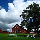 Red Barn by AcePhotography