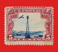 Air Mail Stamp Kids Clothes