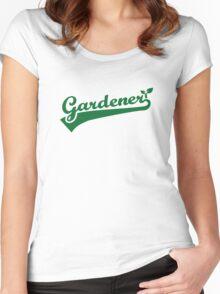 Gardener Women's Fitted Scoop T-Shirt