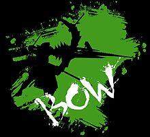 MH4U Bow (CLASS SERIES) by zebnoiser
