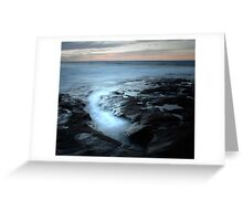 Ebb and flow Greeting Card