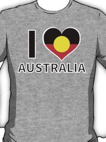 I Heart Indigenous Australia T-Shirt