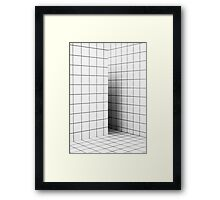 Square Aesthetic Framed Print