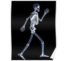 Handdrawn Skeleton X-Ray Poster
