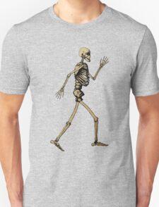 """Handdrawn Skeleton doing """"Like an Egyptian"""" T-Shirt"""