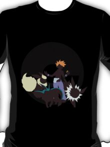 Blue With Eeveelutions - Sunset Shores T-Shirt