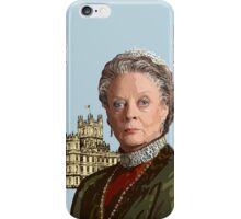 Lady Violet Crawley, Dowager Countess - Downton Abbey iPhone Case/Skin