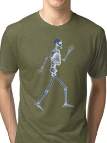 Handdrawn Skeleton X-Ray Tri-blend T-Shirt